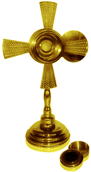 Monstrance: Refined Gold Plated Monstrance